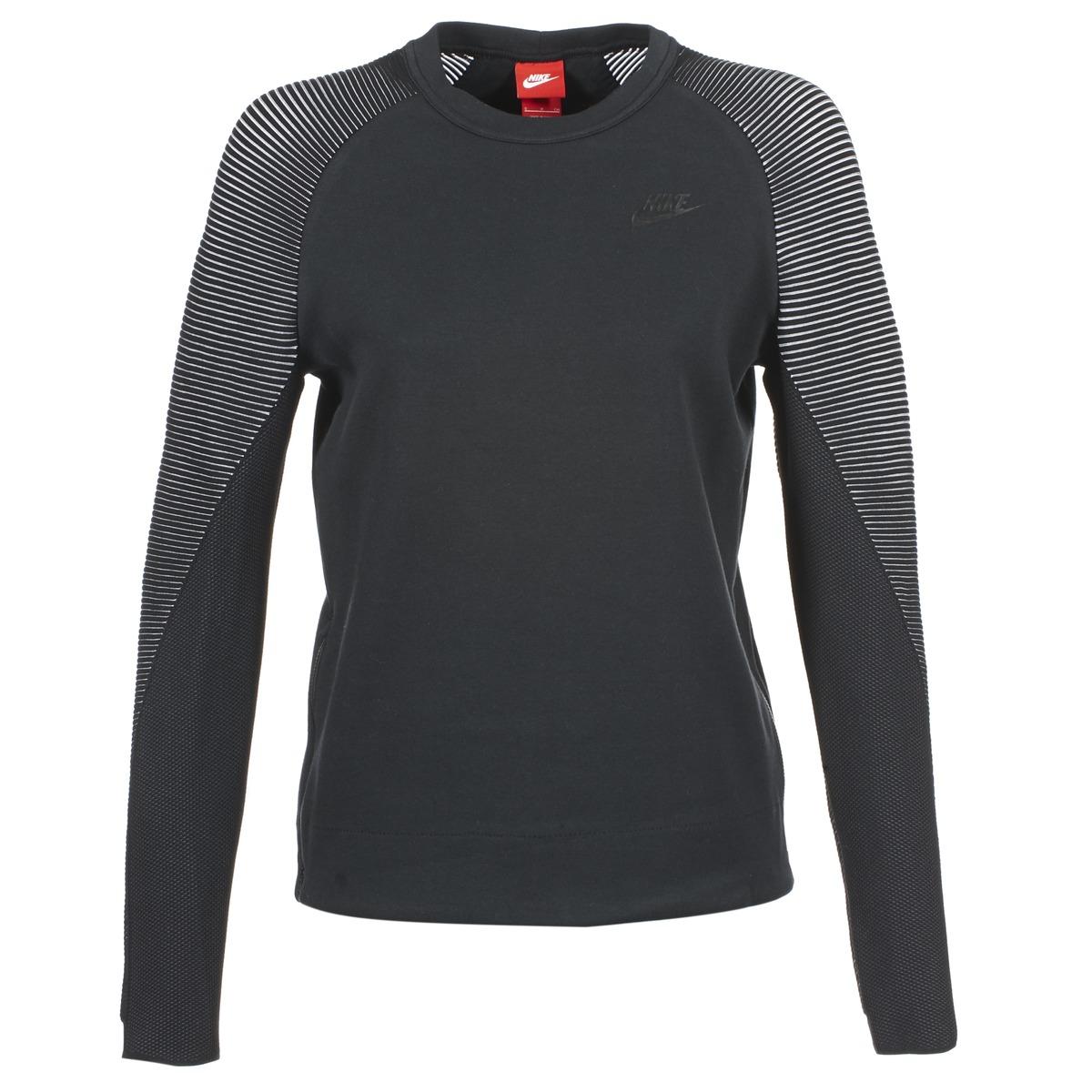 Nike TECH FLEECE CREW Noir