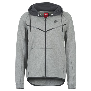 Vêtements Homme Blousons Nike TECH FLEECE WINDRUNNER HOODIE Gris