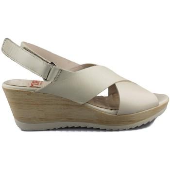 Chaussures Femme Sandales et Nu-pieds Mikaela NAPPA BEIGE