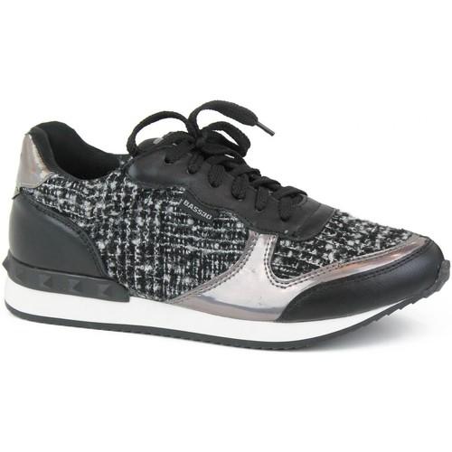 Chaussures Fille Baskets basses Bass3d 41063 Negro