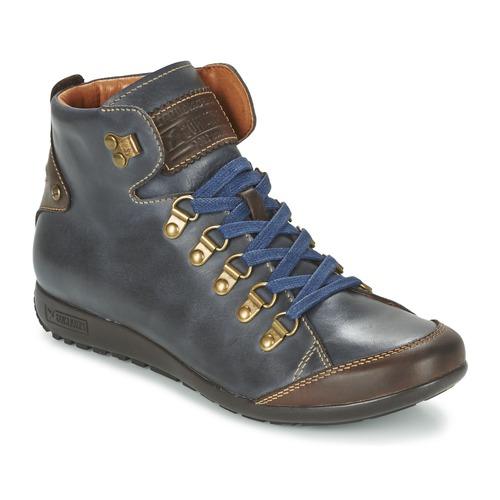 Chaussures Femme Baskets montantes Pikolinos LISBOA W67 Marine