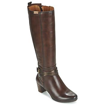 Chaussures Femme Bottes ville Pikolinos SEGOVIA W1J Marron
