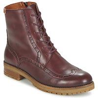 Chaussures Femme Boots Pikolinos SANTANDER W4J Marron