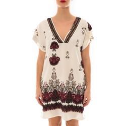 Vêtements Femme Robes courtes Jad Robe Rina imprimée Blanc/Rouge Blanc