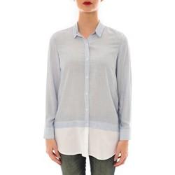 Vêtements Femme Chemises manches longues Ema Blues Chemise Samy  rayée Bleu/Blanc Bleu
