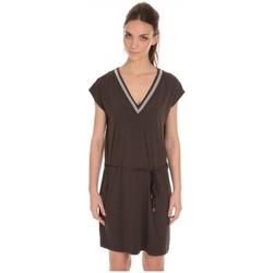 Vêtements Femme Robes courtes LPB Woman Les Petites Bombes Robe Col V ouvert Dos Carbone S165301 Gris