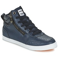 Chaussures Femme Baskets montantes Superdry NANO ZIP HI TOP SNEAKER Bleu
