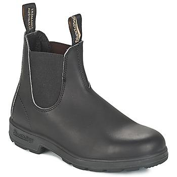 Bottines / Boots Blundstone CLASSIC BOOT Noir / Marron 350x350