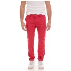 Vêtements Homme Chinos / Carrots Ritchie PANTALON CHINO CARL CASUAL Rouge foncé