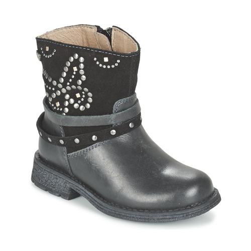 Bottines / Boots Garvalin GENILA Noir 350x350