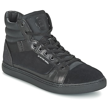 Chaussures Homme Baskets montantes G-Star Raw NEW AUGUR Noir