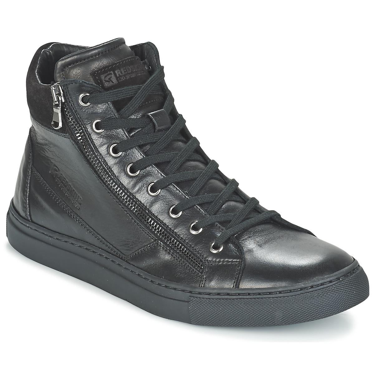 redskins nerino noir livraison gratuite avec chaussures basket montante homme. Black Bedroom Furniture Sets. Home Design Ideas