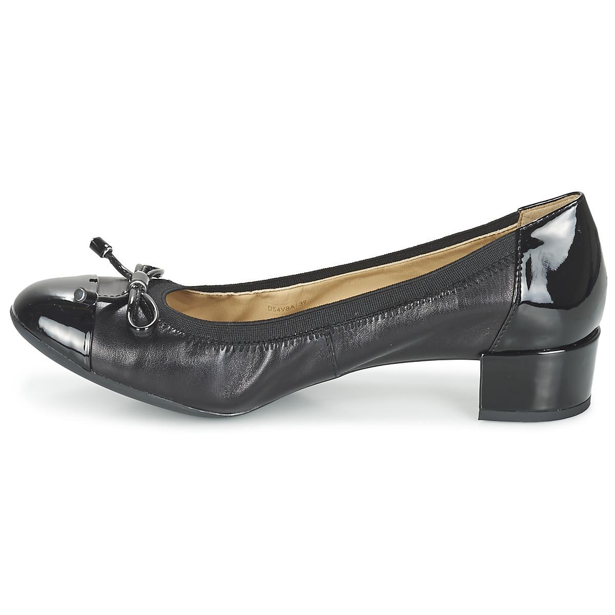 Carey A Gratuite NoirLivraison 95 Chaussures Escarpins Geox