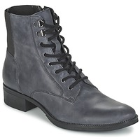 Chaussures Femme Boots Geox MENDI ST B Gris