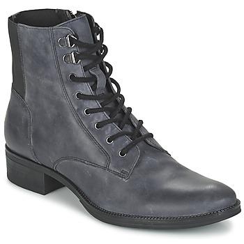 Bottines / Boots Geox MENDI ST B Gris 350x350