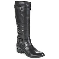 Chaussures Femme Bottes ville Geox MENDI ST D Noir