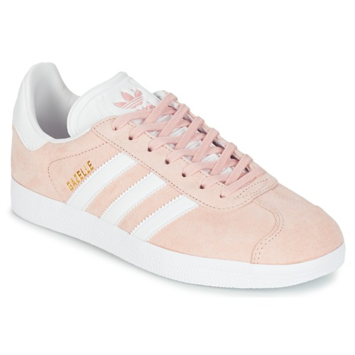 Chaussures Femme Baskets basses adidas Originals GAZELLE Rose