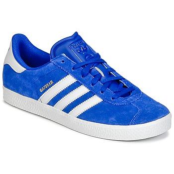 Chaussures Garçon Baskets basses adidas Originals GAZELLE 2 J Bleu