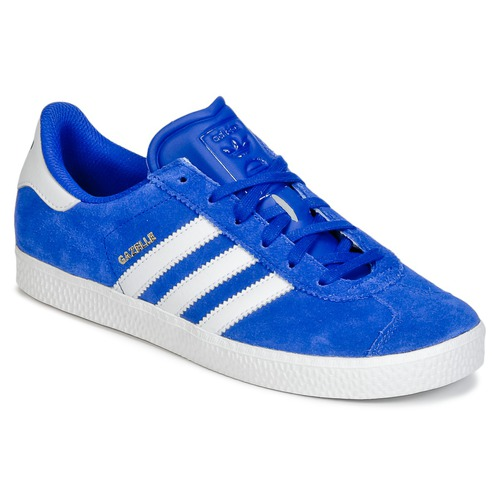 Baskets mode adidas Originals GAZELLE 2 J Bleu 350x350