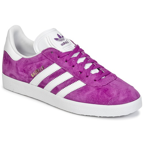Chaussures Femme Baskets basses adidas Originals GAZELLE Violet