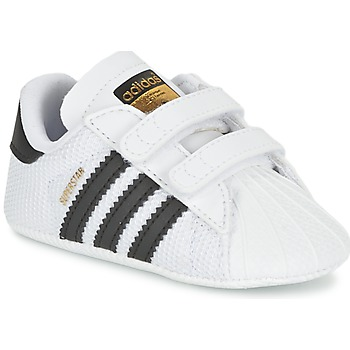 Chaussures Enfant Baskets basses adidas Originals SUPERSTAR CRIB Blanc