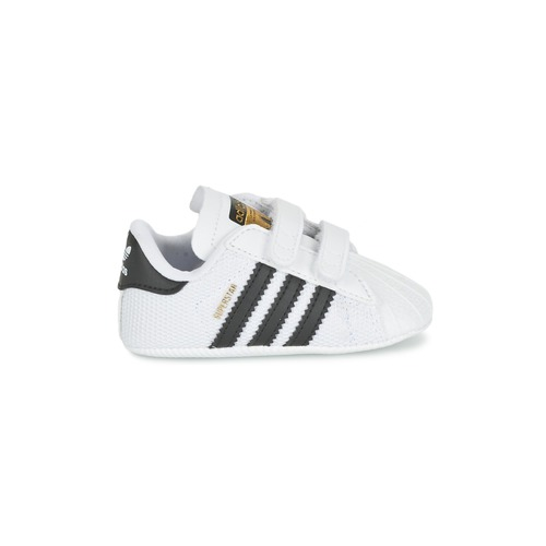 Adidas Enfant Basses Baskets Blanc Chaussures Superstar Crib Originals dCBreWox