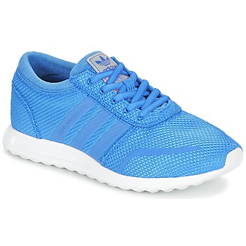 Chaussures Garçon Baskets basses adidas Originals LOS ANGELES J Bleu