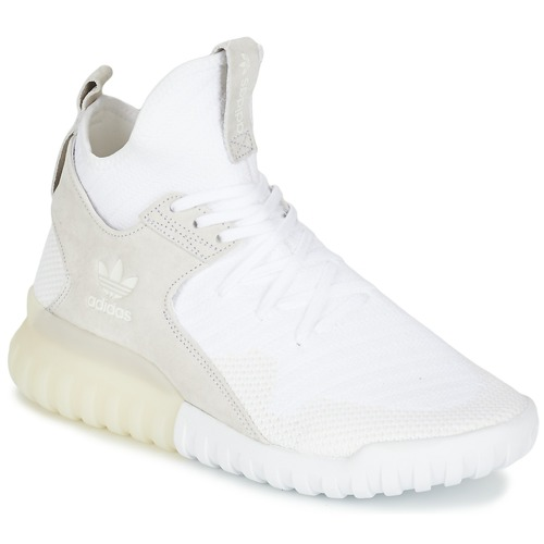 Chaussures Homme Baskets montantes adidas Originals TUBULAR X PK Blanc