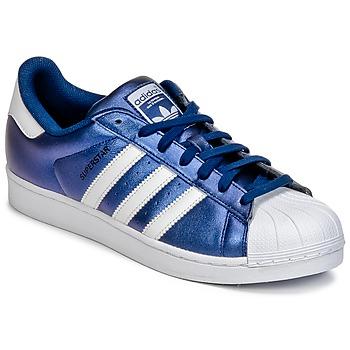 Baskets mode adidas Originals SUPERSTAR Bleu 350x350