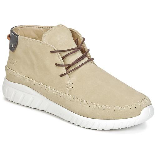 Chaussures Homme Baskets montantes Asfvlt YUMA Beige