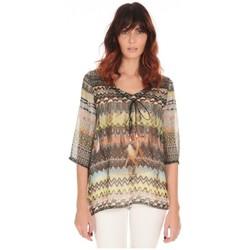 Tops / Blouses Lpb Woman Textile Les Petites Bombes Blouse Voile Multicolore S 165702