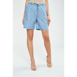 Shorts / Bermudas Minimum Short  Cicilie Bleu Clair Femme