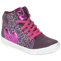Chaussures Fille Baskets montantes Agatha Ruiz de la Prada BUSOULI Violet