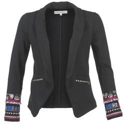 Vêtements Femme Vestes / Blazers Banana Moon LIDIAE Noir