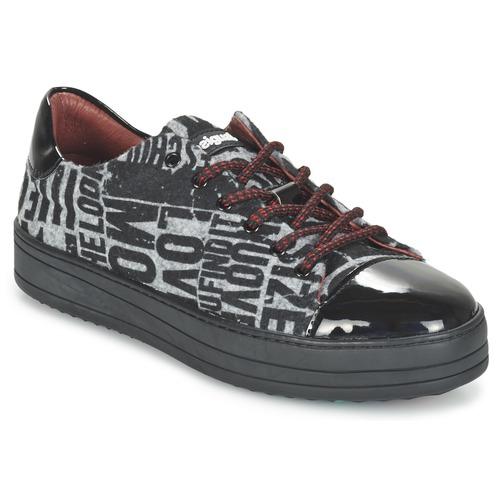 Chaussures Femme Baskets basses Desigual KARTEL  FUNKY Noir