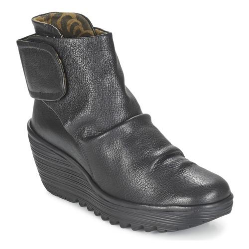 Chaussures Femme Bottines Fly London YEGI Noir