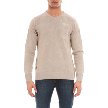 Vêtements Homme Pulls Ritchie PULL V LIN AZARIA Beige