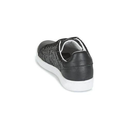 Chaussures Baskets Noir Femme Avalon Mellow Basses Yellow wXlZPkuiOT