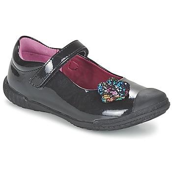 Chaussures Fille Ballerines / babies Mod'8 KANDEA Noir