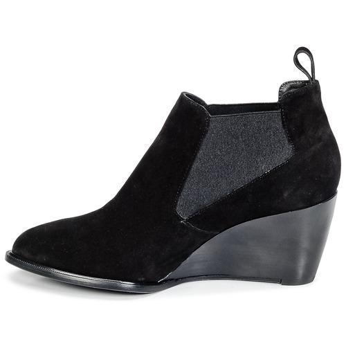 Olav Clergerie Robert Femme Boots Low Noir xQCerdBWo