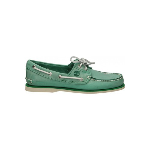 Chaussures Homme Chaussures bateau Timberland CLASSIC BOAT 2 EYE vert