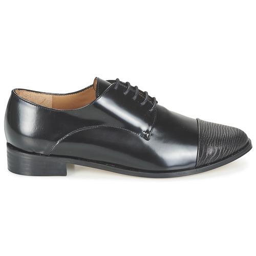 Go Noir Chaussures Emma Derbies Sherlock Femme 31JcKTlF