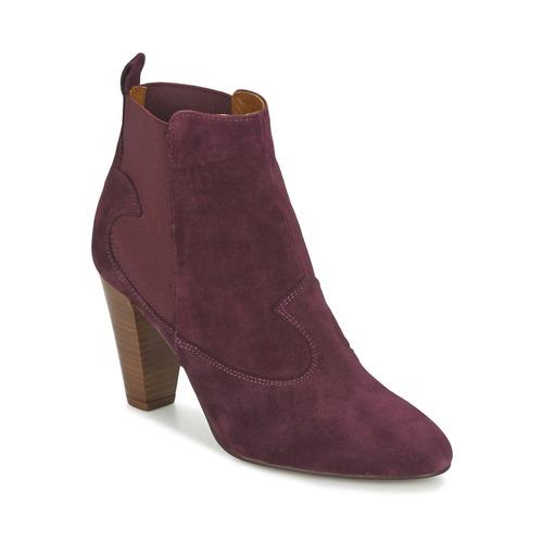 Chaussures Femme Bottines Heyraud DAISY Bordeaux