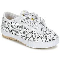 Chaussures Enfant Baskets basses Feiyue FE LO SNOOPY EC Blanc