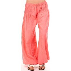 Vêtements Femme Pantalons fluides / Sarouels By La Vitrine Sarouel Medina corail Orange