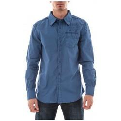 Vêtements Homme Chemises manches longues Ritchie CHEMISE TOCOLATY Royal