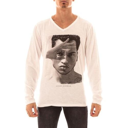 Vêtements Homme T-shirts manches longues Ritchie T-SHIRT JOJIAKAN Blanc