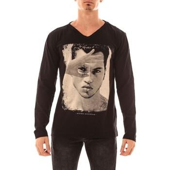 Vêtements Homme T-shirts manches longues Ritchie T-SHIRT JOJIAKAN Noir
