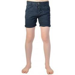 Vêtements Garçon Shorts / Bermudas Deeluxe S16707K Zest Kid Navy Bleu