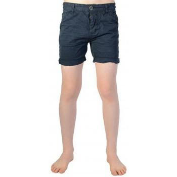 Vêtements Garçon Shorts / Bermudas Deeluxe Short Deeluxe Enfant S16707K Zest Kid Navy Bleu